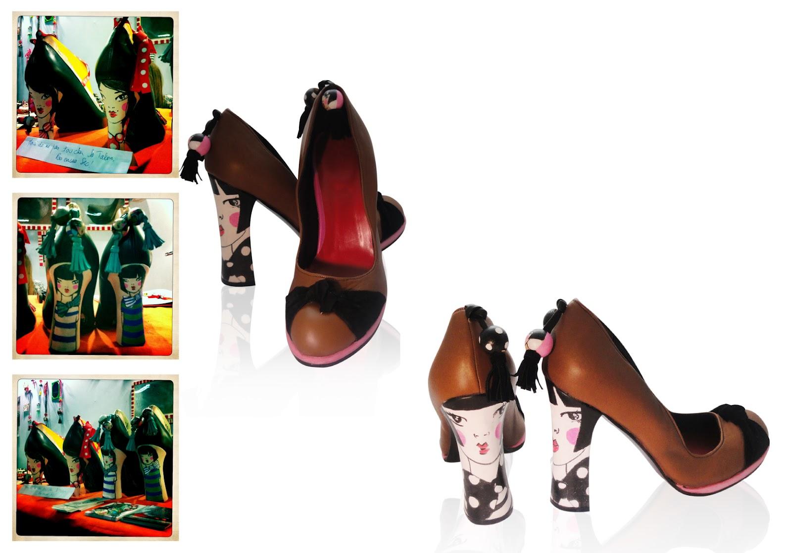 Agitation Des Sur Uniques Audrey Chaussures Créative Fallope 8xtOwrq8Wg