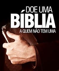 DOAR BIBLIA UM ATO DE AMOR: