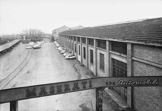 The Maserati factory (1965)