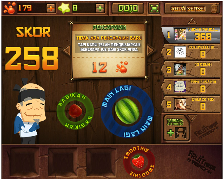 fruit juice healthy fruit ninja game