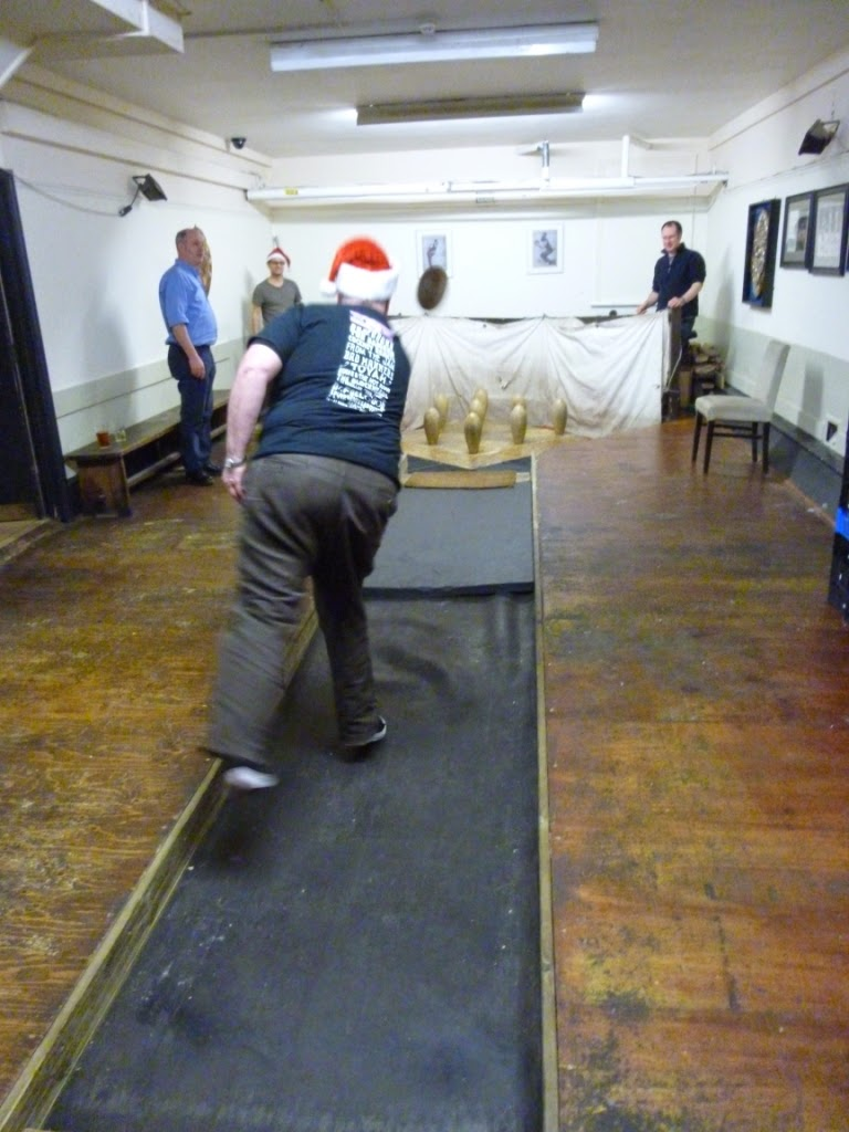 London Skittles at the Hampstead Lawn Billiard and Skittle Club