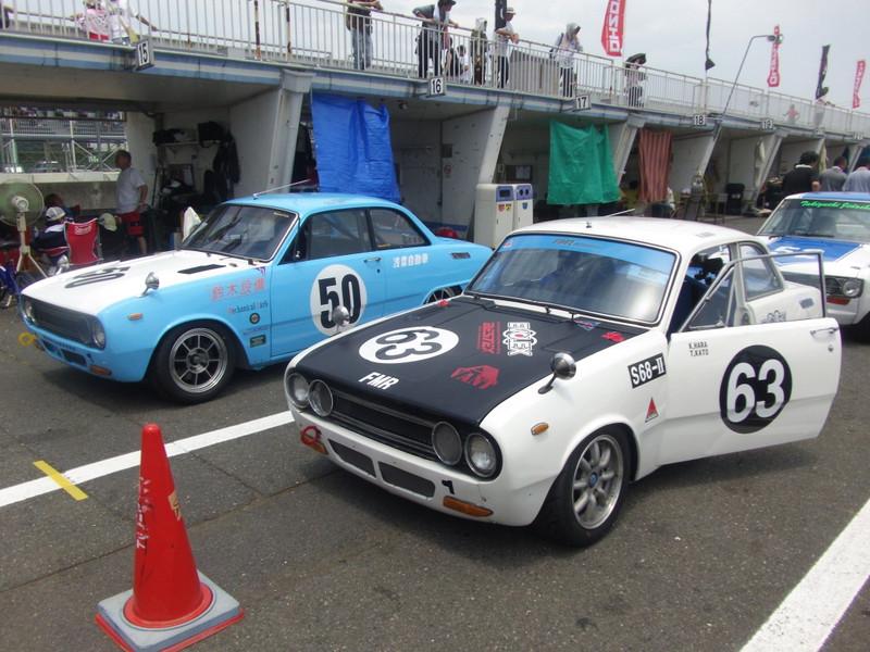 Isuzu Bellett, wyścigi, sport, japońskie coupe, klasyczne samochody, japońska motoryzacja, jdm, zdjęcia