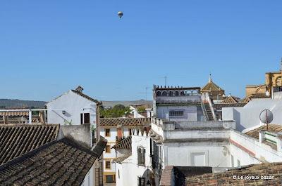 Cordoue : vue depuis la terrasse de l'hôtel