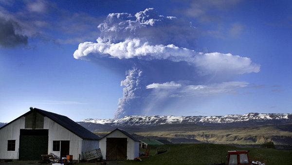 Znow wybuch wulkanu na Islandii
