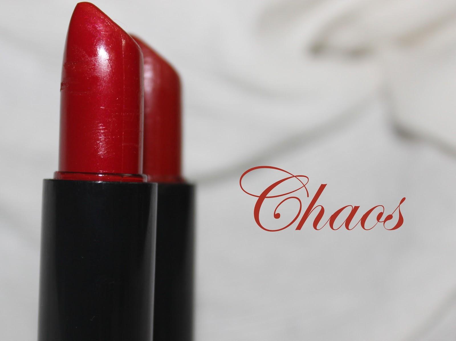 NYX Chaos Lipstick Review JPGNyx Chaos