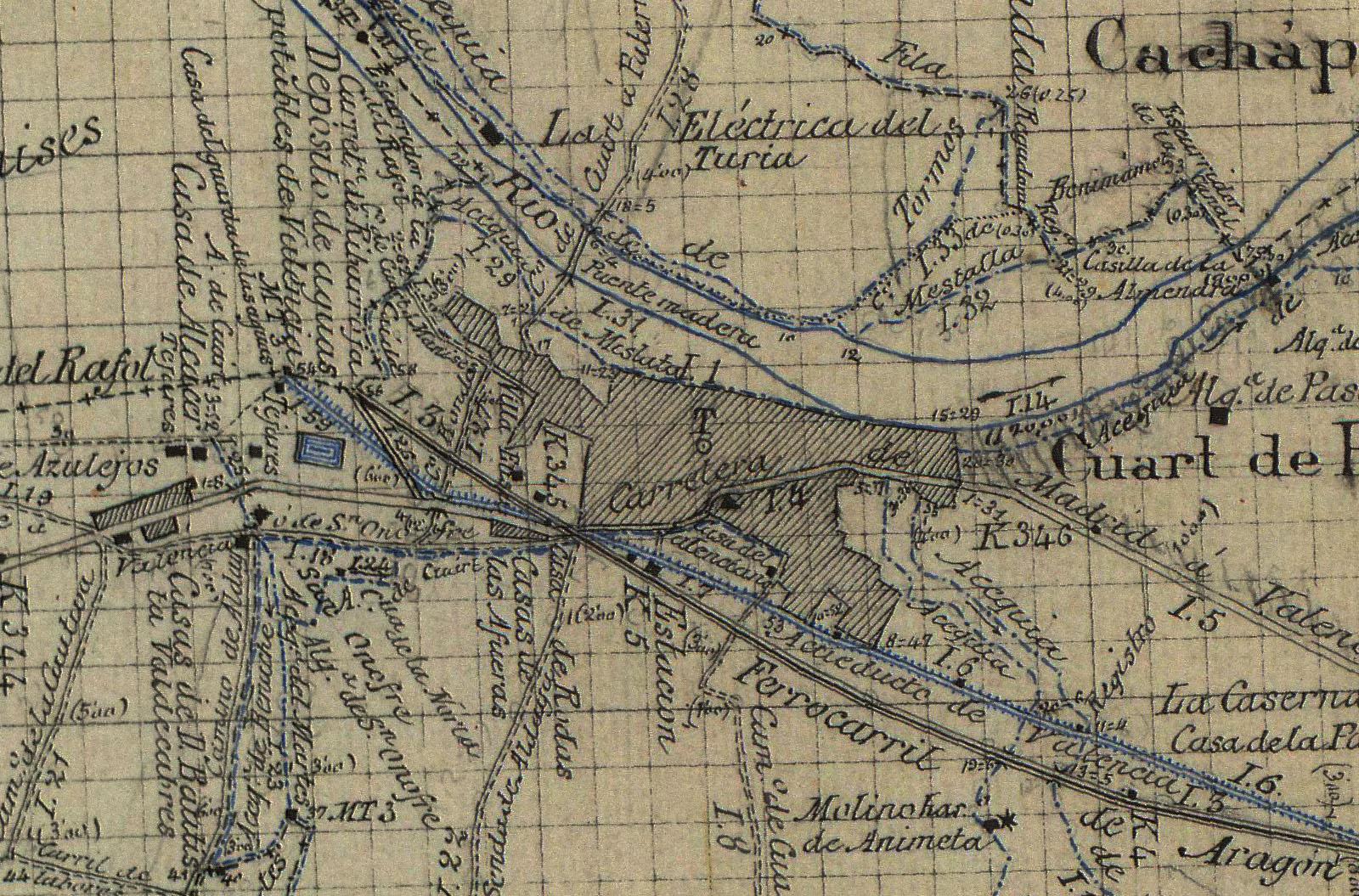 Los Archivos Secretos de Quart de Poblet: Cartografía y fotografía ...