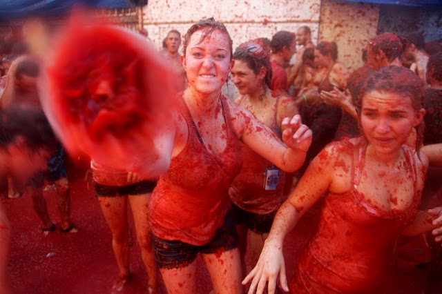 La Tomatina's 70th anniversary — and its big, messy secret