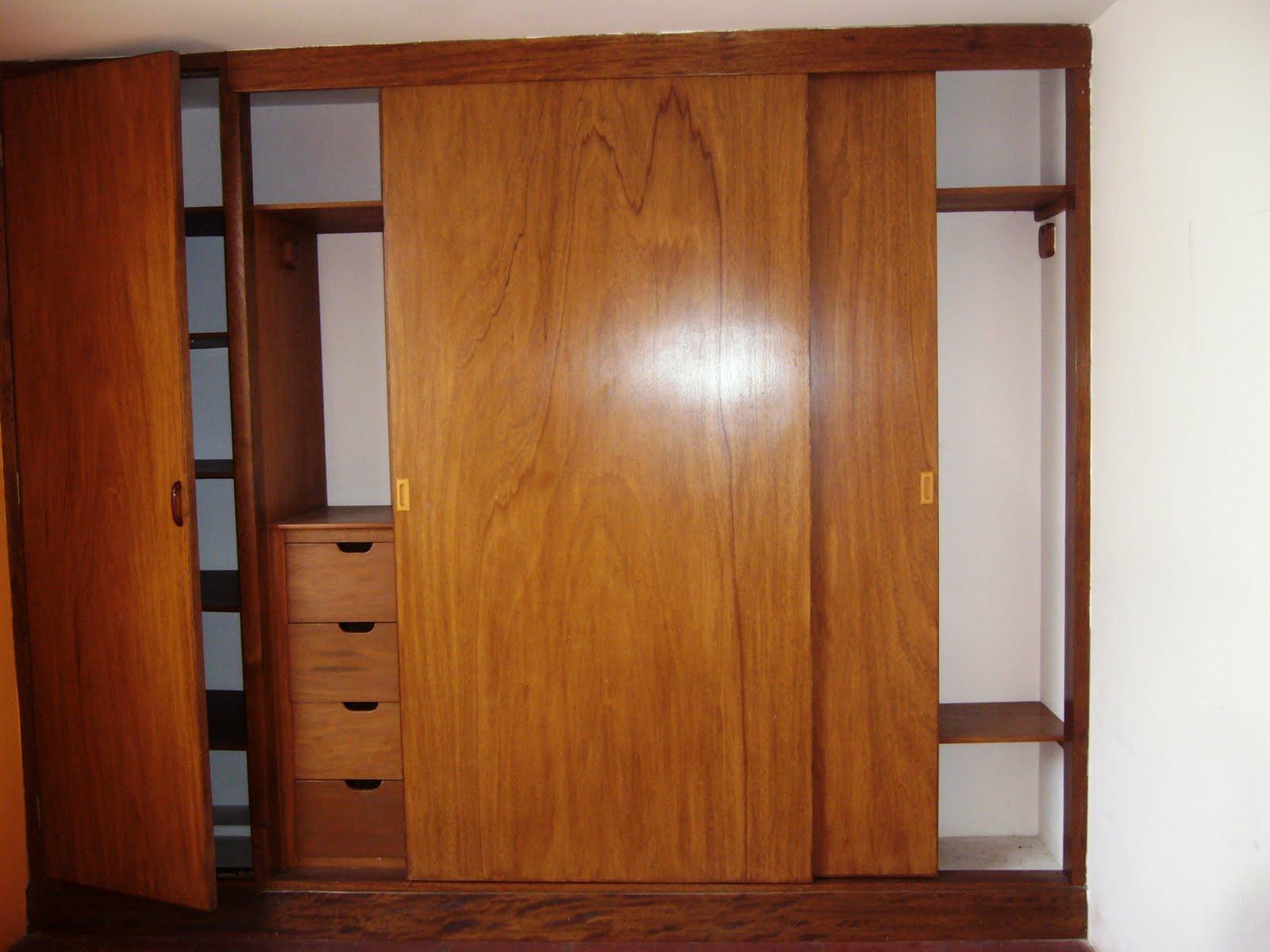 Remate de acabados closet madera cedro for Armar closet de madera