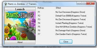 Plants VS Zombies Trainer +7