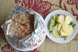 Khmer prahok, cambodian fish paste, food