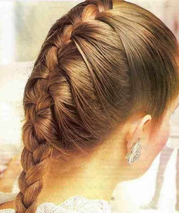 FRENCH BRAID OF A LADY_MYCLIPTA