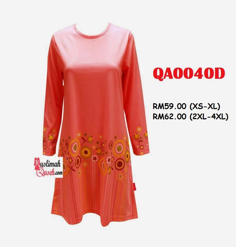 T-Shirt-Muslimah-Qaseh-QA0040D