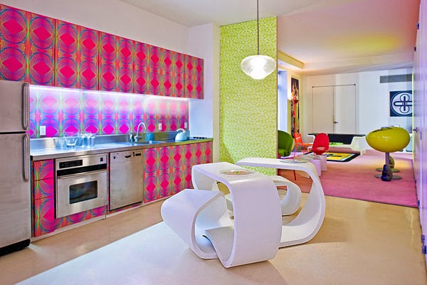 Decoración de Loft en New York por Karim Rashid 1