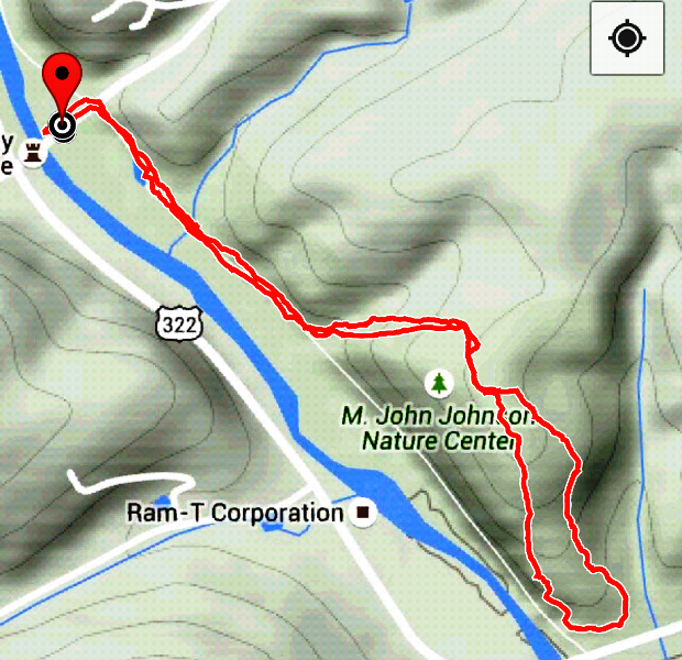 Southeastern PA Hiking M John Johnson Nature Center