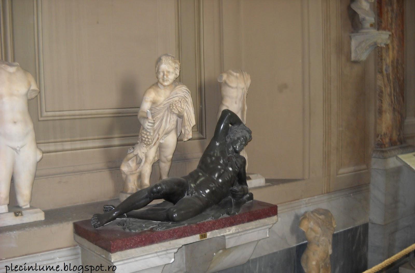 Sculptura din Muzeul Vaticanului
