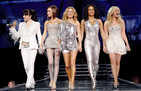 Spice Girls in Olympic Opening Ceremony 2012 London