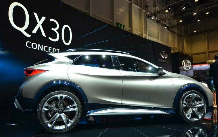 Infiniti QX30 Concept Officially Launched At Geneva Motor Show 2015