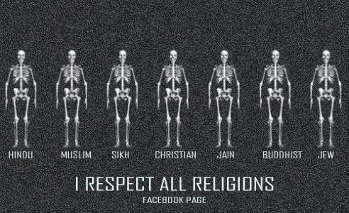 respect religion essay