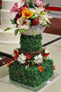 PRIMO POSTO CATEGORIA FLOREALE CAKE SHOW BOLOGNA 2014