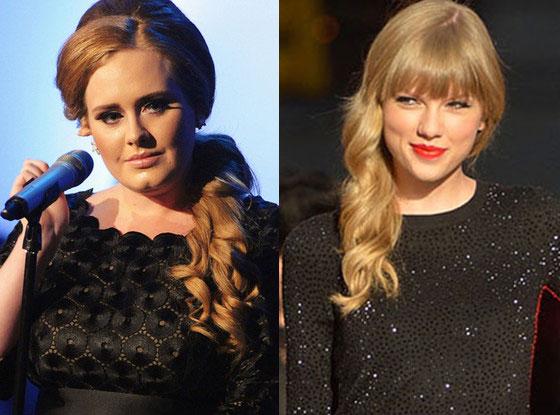 """Adele: """"¡Estar en mismo nivel que Taylor Swift es fantástico!"""""""