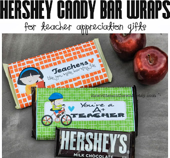 Easy Gift for Teacher-And Who Doesn't Like Chocolate?