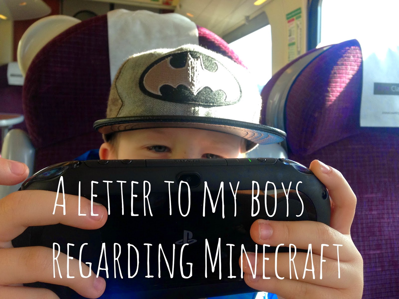 playstation, vita, gaming, young, children, minecraft, parent, blogger