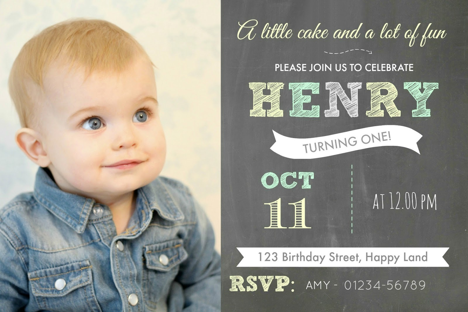 DIY PicMonkey Birthday Invitations