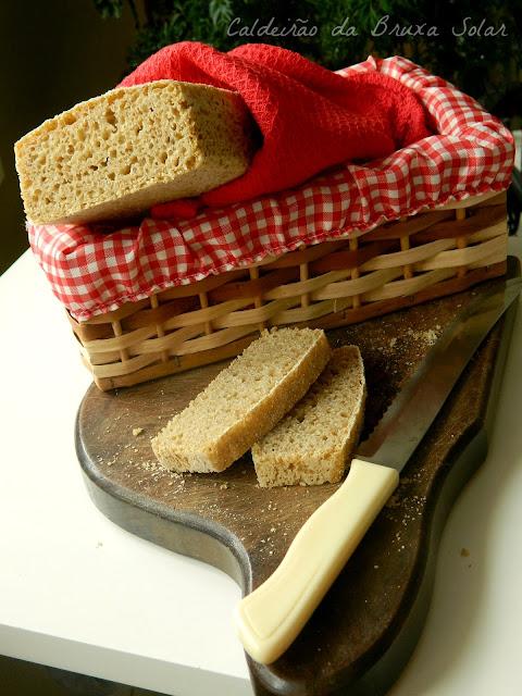 Pão rústico integral sem sova