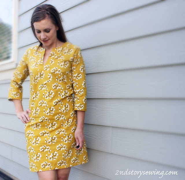 2nd story sewing yellow boden inspired sundress for Boden yellow