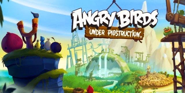Rovio rilis Angry Birds Under Pictruction, versi klasik dengan banyak perubahan