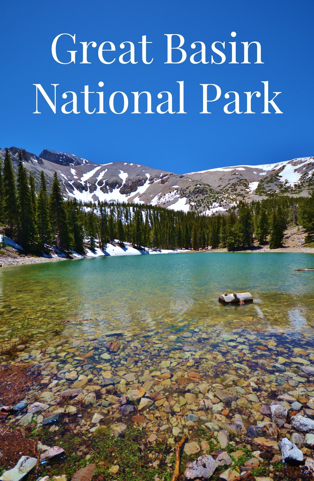 Discover snow covered peaks, sub-alpine lakes, a breathtaking night sky and so much more at Great Basin National Park! #travel #camping #70dayroadtrip