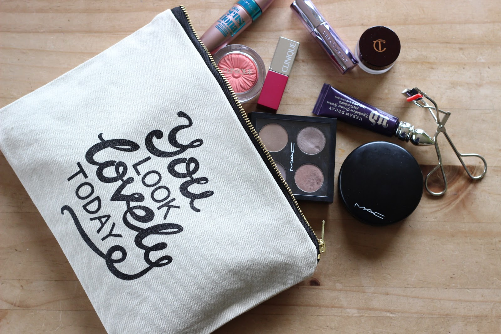 Alphabet Bags: The New Makeup Bag