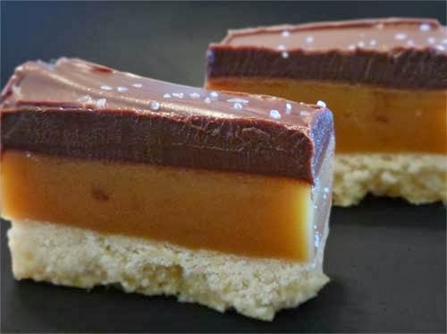 Salted Caramel Shortbread Bar Recipe - Food, Fun, and ...