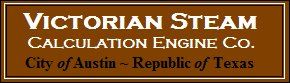 Victorian Steam Calculation Engine Co.