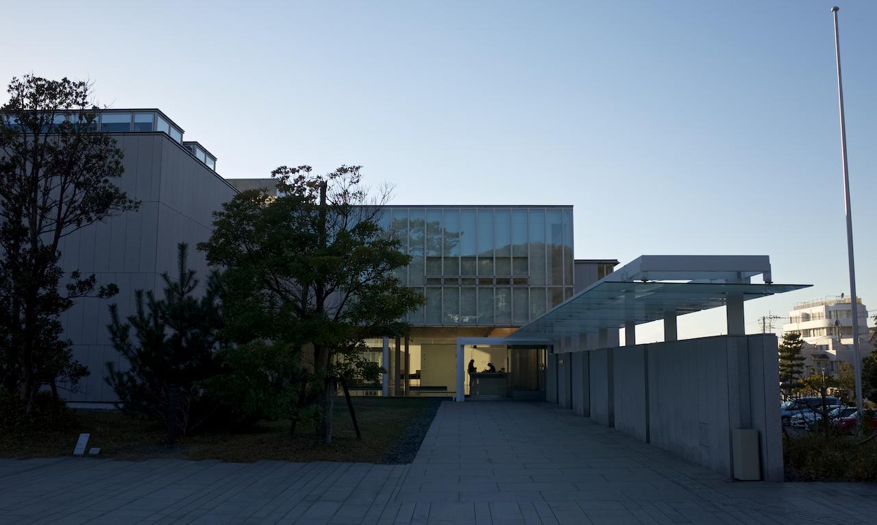 神奈川県立近代美術館・葉山館 入口
