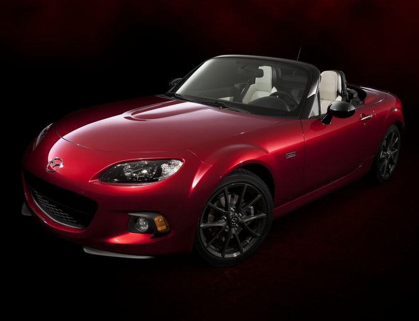 2014 Mazda MX-5 Miata 25th anniversary