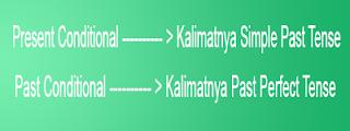 tenses simple past dalam past conditional menggunakan past prefect