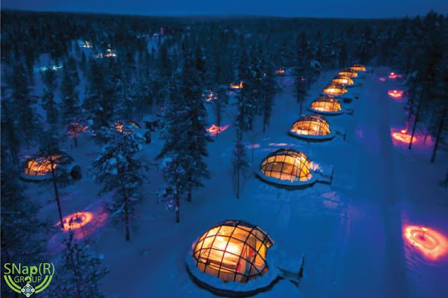 Top Ten very Unique Hotels that are all around the World