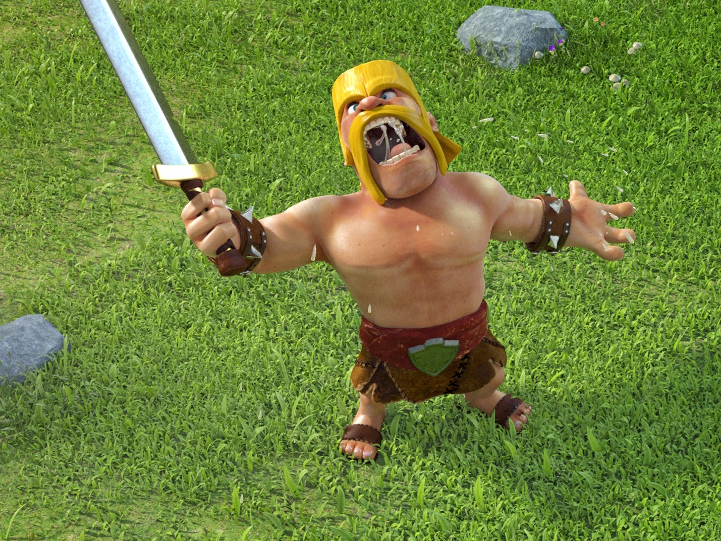Wall breaker clash of clans wallpaper