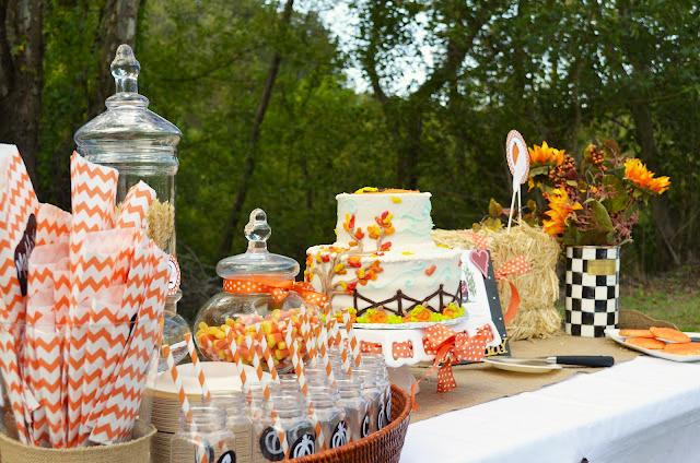 5M Creations Pumpkin Harvest Birthday Party Carsyns Fall Festival