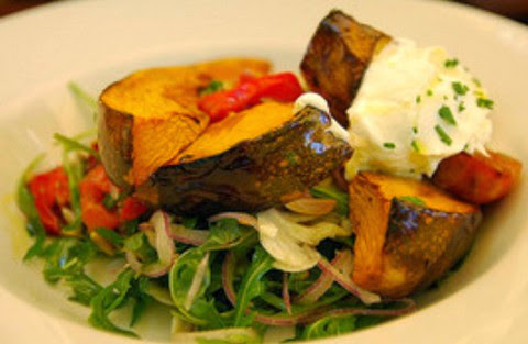 Roasted Sweet Potato and Pumpkin Salad