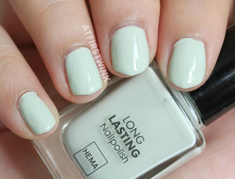 HEMA nail polish 441 - pastel green