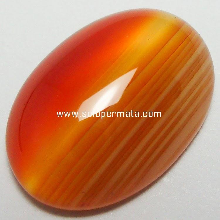 Batu Permata Agate Motif - 24A08