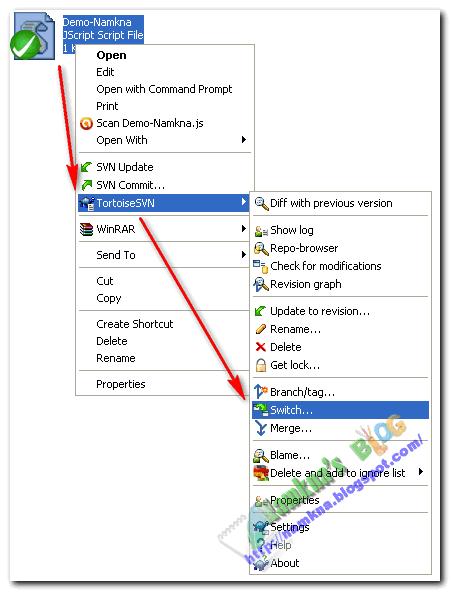 Upload file javarscipt css lên Googlecode với TortoiseSVN