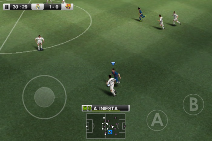 (PES) 2012 HD for Samsung Galaxy Y , Samsung Galaxy Y Duos , Samsung