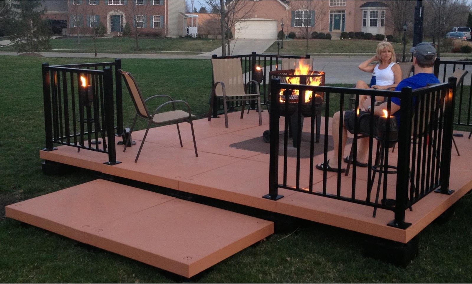 Lush fab glam blogazine outdoor living made fabulously for Simple outdoor decks