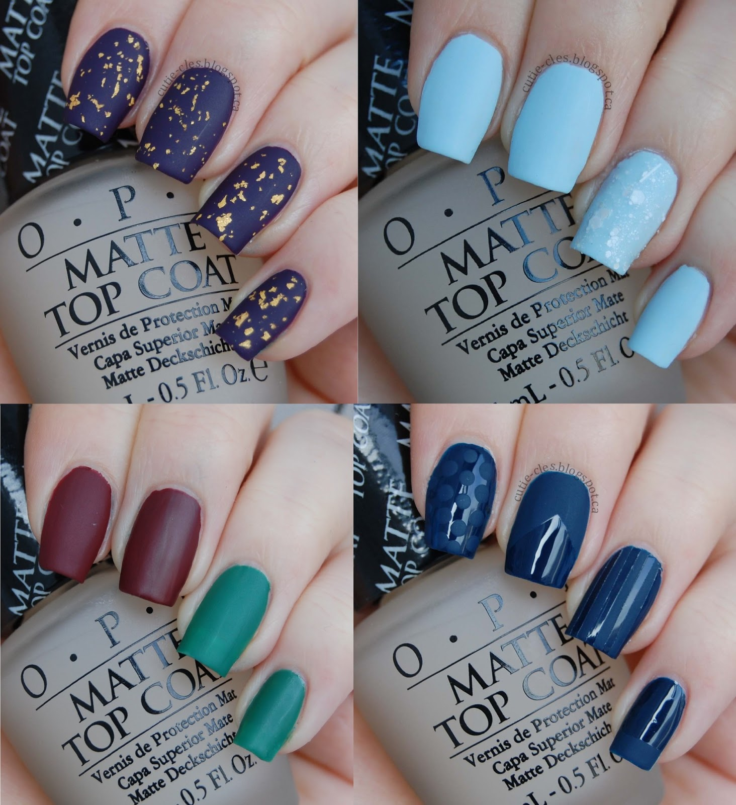 opi matte top coat how to use