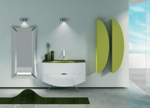 the Bath Showcase: A Lesson in Bathroom Lighting  Bathroom