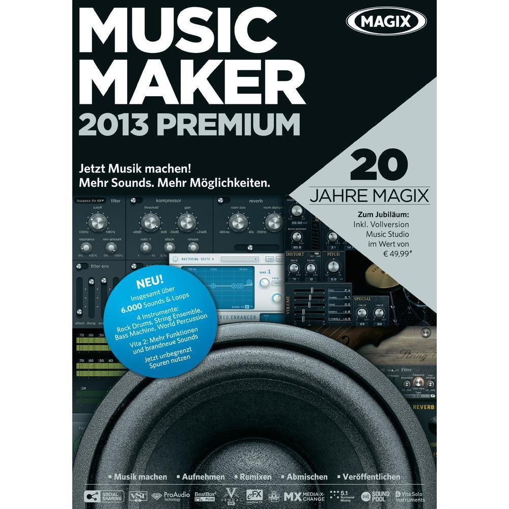 WatFile.com Download Free MAGIX Music Maker Premium 2013 Full Version Free Download with keygen