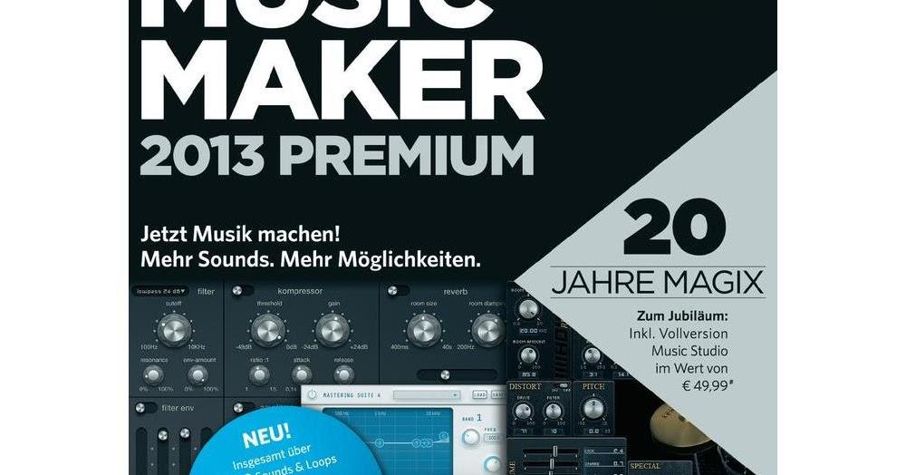 magix music maker 2013 premium serial number